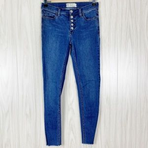 Free People | Button Fly Skinny Jeans